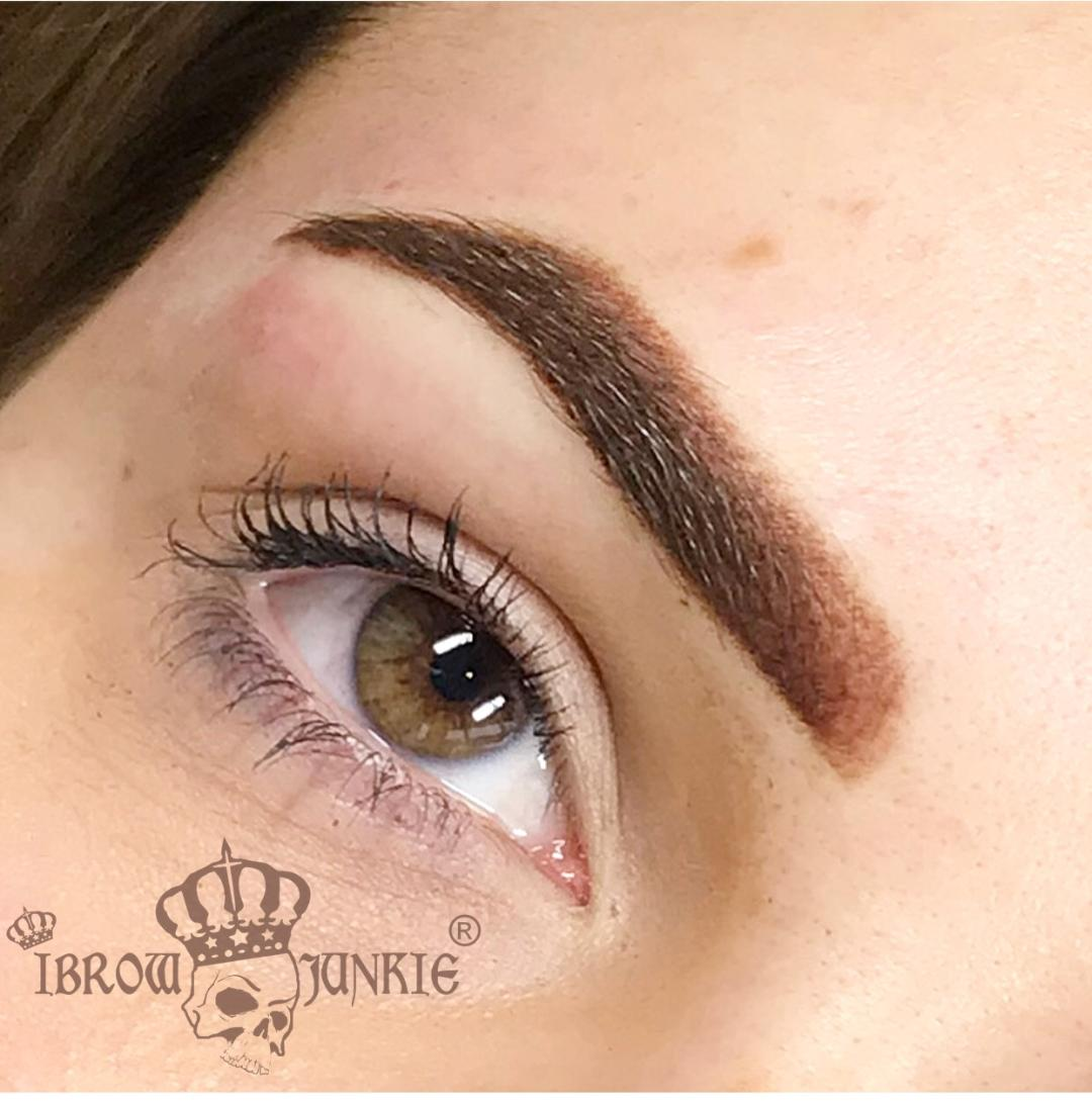 Semi-permanent Ombre Brows Ibrow junkie